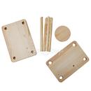 Пресс для сыра деревянный (покрытие - бесцветный лак)